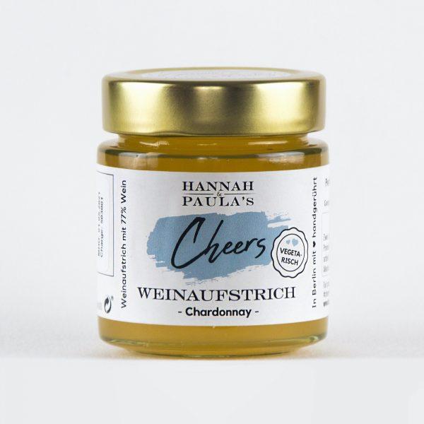 Hanna & Paula   CHEERS Weinaufstrich CHARDONNAY